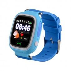 Детские GPS Часы Smart Baby Watch Q80 Цвет: Голубой