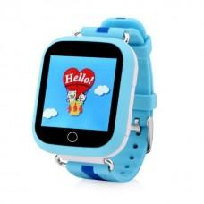 Детские GPS Часы Smart Baby Watch GW200S Цвет: Голубой