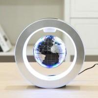 Светящийся левитирующий глобус 15 см