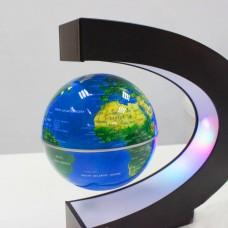 Светящийся левитирующий глобус 9 см