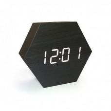 Электронные деревянные часы LED WOODEN CLOCK VST-876