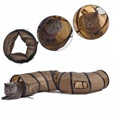 Игра  для кота Туннель