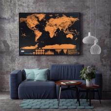 Скретч карта мира путешественника