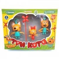 Набор из 3 игрушек «3 кота»