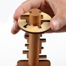 Головоломка Деревянный ключ