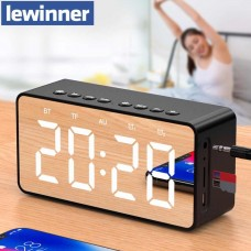 Часы будильник колонка