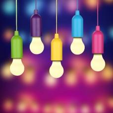 Светодиодная лампочка на батарейках Handy Lux  Colors