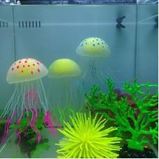 Медуза с подсветкой для аквариума