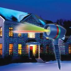 Лазерный проектор star shower motion лазерная подсветка для дома