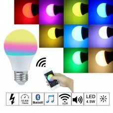 Bluetooth лампочка — Luminous BT SmartBulb.
