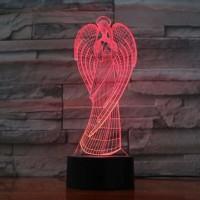 Светильник 3D Ангел