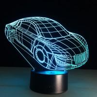 Светильник 3D автомобиль