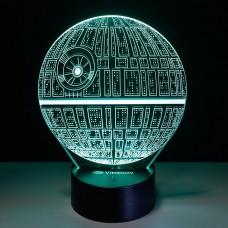 Светильник 3D Космический шар