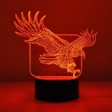 Светильник 3D Орёл